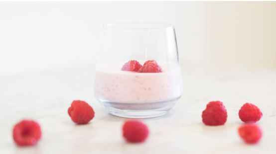 Raspberry Cheesecake Protein Mousse