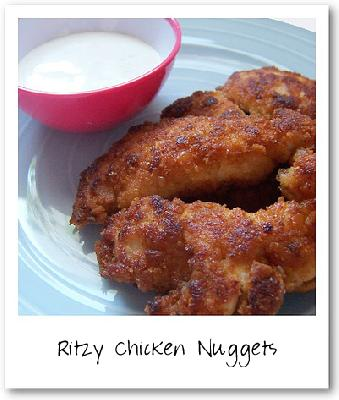 Nigella's Ritzy Chicken Nuggets