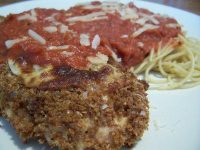 Chicken Parmesan (Light Version)