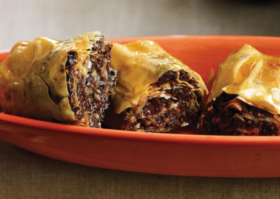 Orange Chocolate Baklava