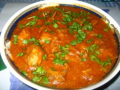 Butter chicken (Makhani chicken)