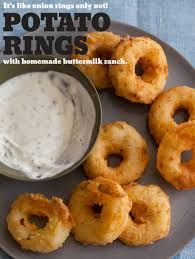 Mashed potatoe rings
