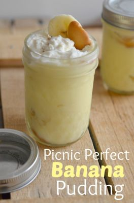 Picnic Perfect Banana Pudding