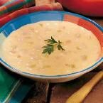 Canadian Bacon Cheese Soup