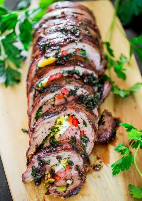 Matambre: Argentinian Stuffed Flank Steak