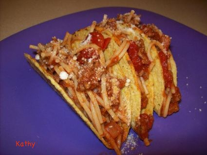 Nickelodeon S Icarly Spaghetti Tacos On Bakespace Com