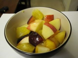 Fall Fruit Salad perfect cholesterol lowering food