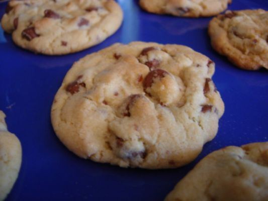 Noah R's Double Chocolate Chip Cookies modified from delish.com