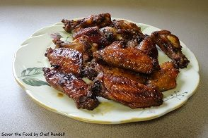 Brown Sugar Finger Wings