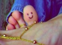 Hi from my Toe Buddy!