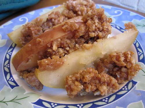 Baked Apple Crumble Foods That Lower Cholesterol
