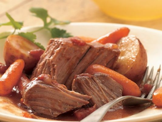 Betty Crocker Slow Cooker Southwestern Pot Roast
