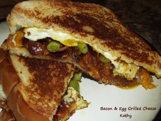 Bacon & Egg Grilled Cheese