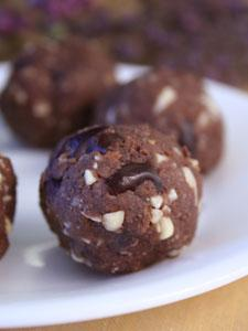 Cherry Chocolate Balls