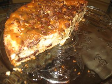 Caramel Chocolate Streusel Coffee Cake