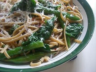 Ralphy's Greeny Linguine