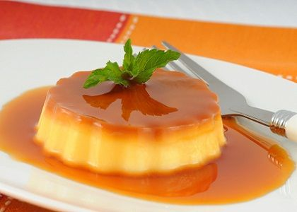 Spanish Flan with Caramel
