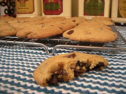 Big Batch Chewy Chocolate Chip Cookies