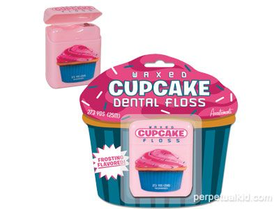 Cupcake Floss - http://www.perpetualkid.com/index.asp?PageAction=VIEWPROD&ProdID=3364&dc=bake