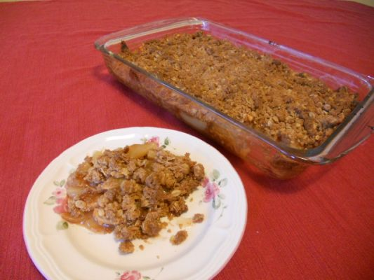 Vegan Gluten Free Apple Crisp