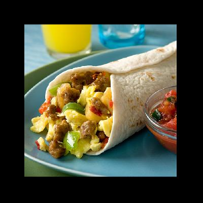 Jimmy Dean® Skillets, Southwest Style: Customizable Breakfast Burritos