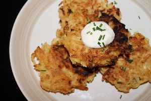 POTATO AND PEAR PANCAKES