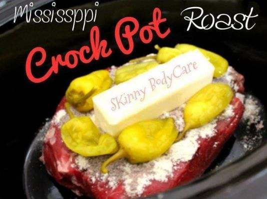 MISSISSIPPI CROCK POT ROAST