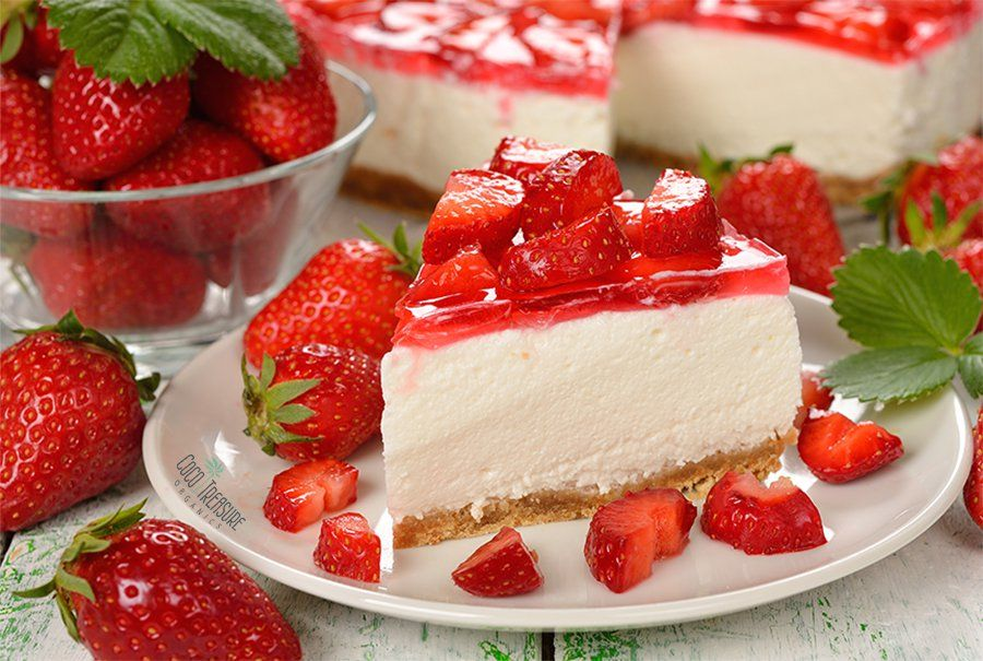Strawberry Icebox Pie with a Twist