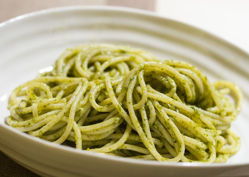 Yummy (no, really) Kale Pesto Pasta