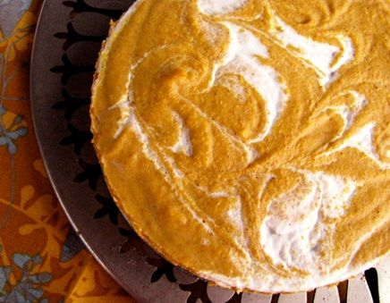 PUMPKIN CHEESECAKE OR PIE.