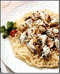 Crab and Angel Hair Pasta