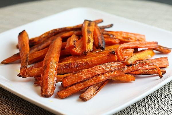 Diabetic Carrot French Fries