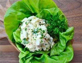Pickled Egg & Tuna Salad