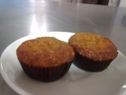 Carrot and Rose mary cup cakes
