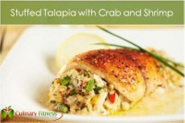 Stuffed Tilapia with Crab and Shrimp