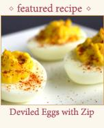 Deviled Eggs With Zip