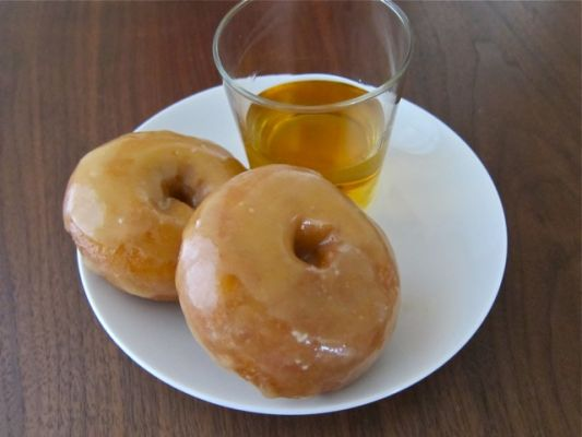 Maple Macallan Glazed Donuts