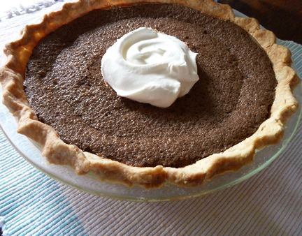 Minny's Notoriously Irresistible Chocolate Pie