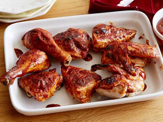 Paula Deen's Easy After Work BBQ Chicken