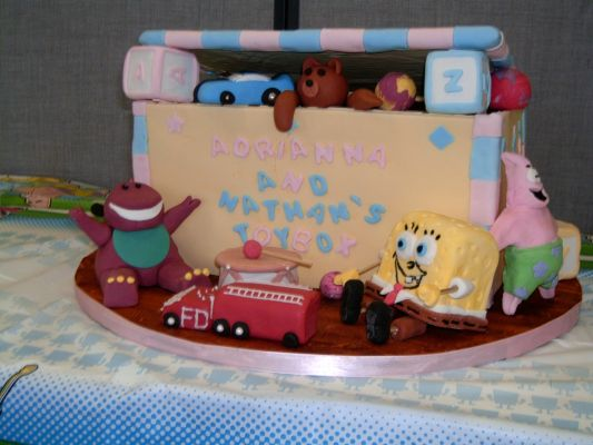 Toy Box Cake completed in 2009
