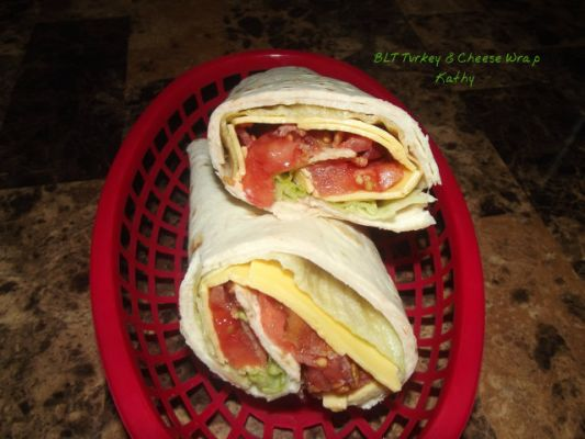 BLT Turkey & Cheese Wrap