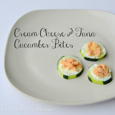 Cream Cheese and Tuna Bites