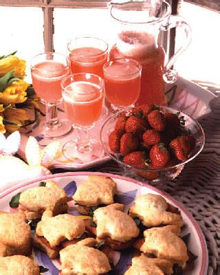 Strawberry-Lemon Punch
