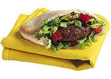 Grilled Pita Patties