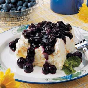 Blueberry Angel Dessert