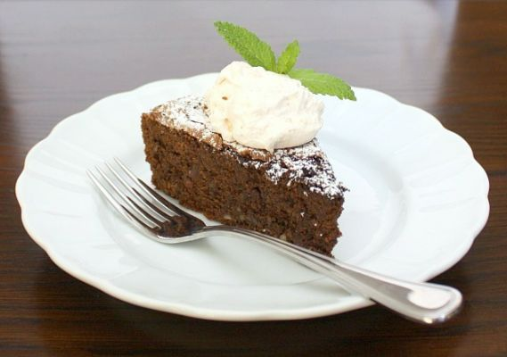 Chocolate-Ancho Chile Cake