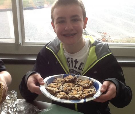 Jack G's Make Magic in Minutes Magic Cookie Bars, modify from Borden And Elsie  cooking magazine.