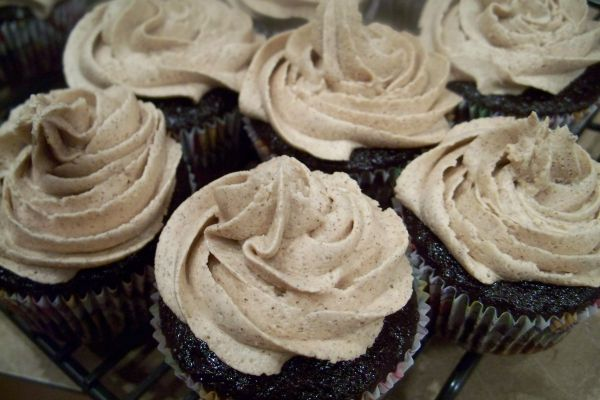 Chocolate Cinnamon Cupcakes