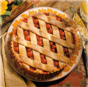ZESTY CHERRY-ORANGE PIE