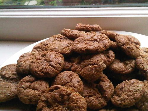 Gluten Free Sunflower Butter Cookies (Nutless Wonders)